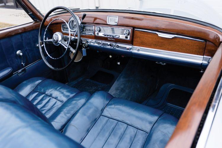 1954 Mercedes Benz 300S Cabriolet US-spec W188 luxury convertible retro wallpaper