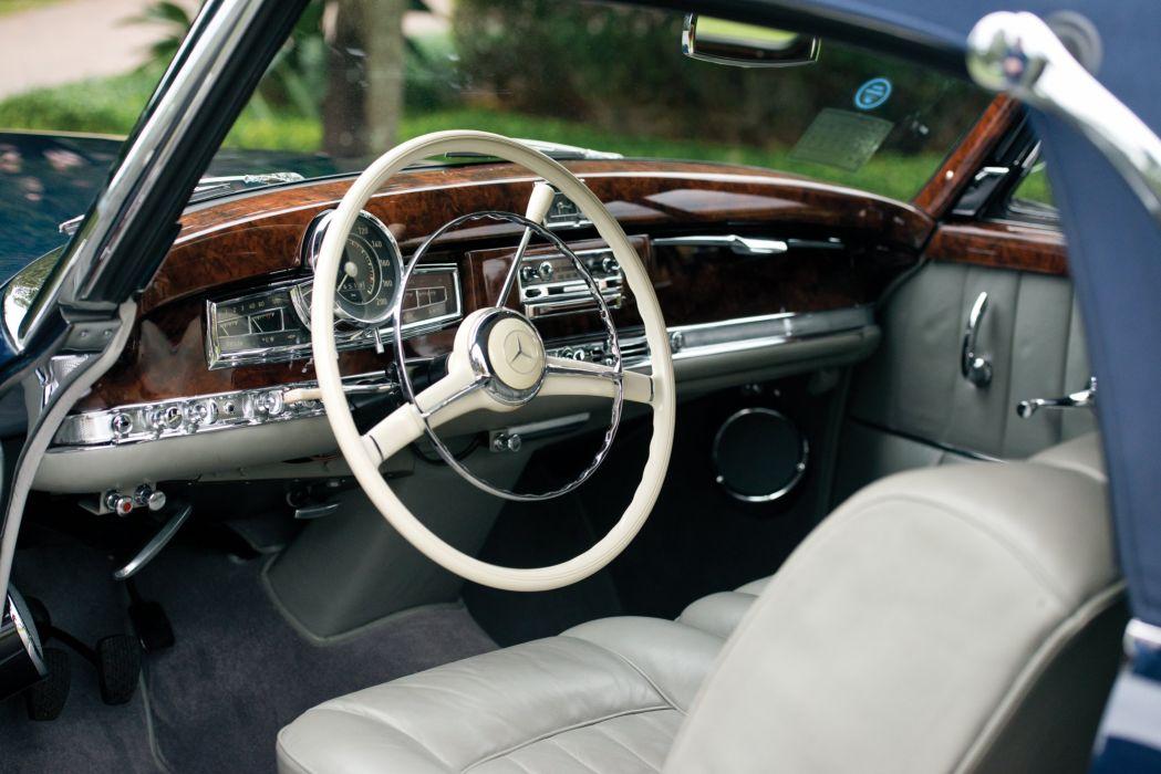 1956 Mercedes Benz 300Sc Cabriolet A W188 luxury retro wallpaper