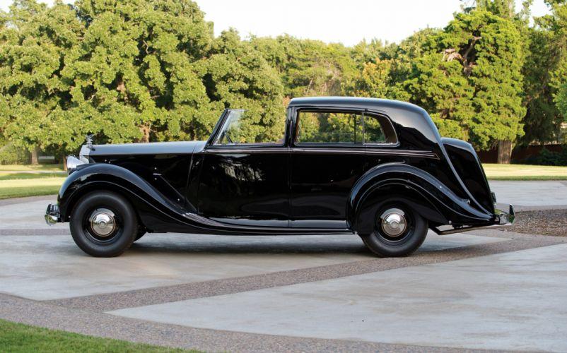 1948 Rolls Royce Silver Wraith Sedanca de Ville Mulliner luxury retro wallpaper