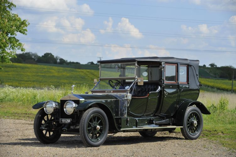 1912 Rolls Royce Silver Ghost 40-50 Cabriolet Barker luxury retro vintage wallpaper