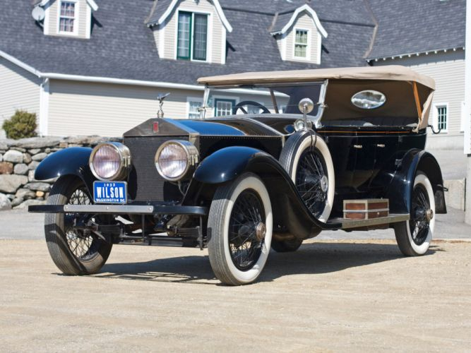 1923 Rolls Royce Silver Ghost Oxford Custom Tourer luxury retro bintag wallpaper