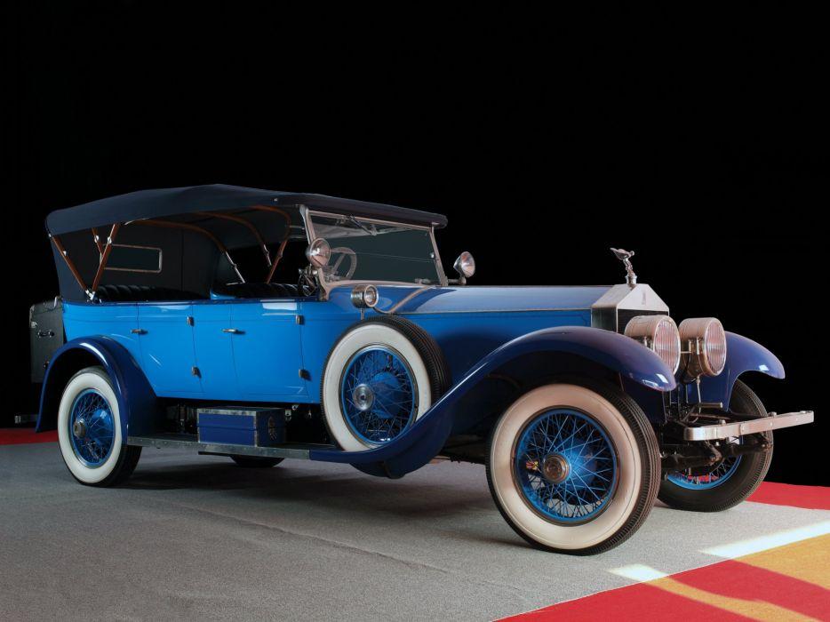1923 Rolls Royce Silver Ghost Oxford Custom Tourer luxury retro bintag wallpaper