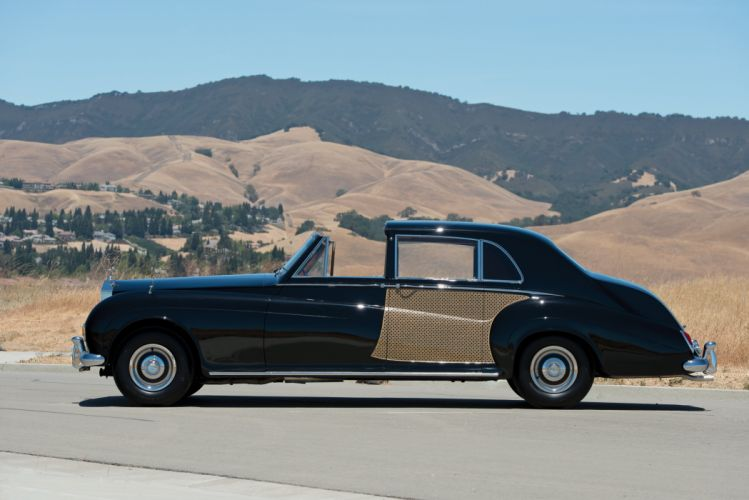 1960 Rolls Royce Phantom V Sedanca de Ville James Young 5AS95 luxury classic wallpaper