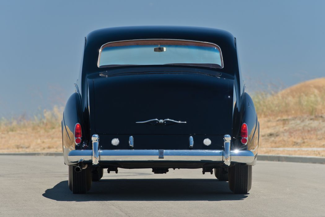 1960 Rolls Royce Phantom V Sedanca de Ville James Young 5AS95 luxury classic wallpaper