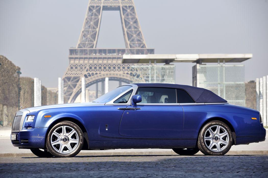2012 Rolls Royce Phantom Drophead Coupe luxury wallpaper