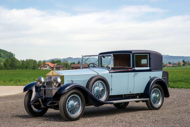 1920 Rolls Royce Silver Ghost Sedanca de Ville Binder luxury retro vintage wallpaper