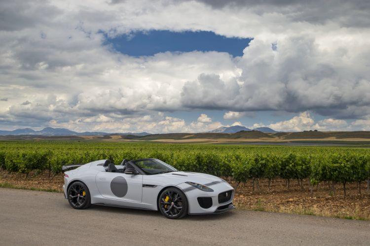 2014 Jaguar F-Type Project-7 UK-spec race racing supercar wallpaper