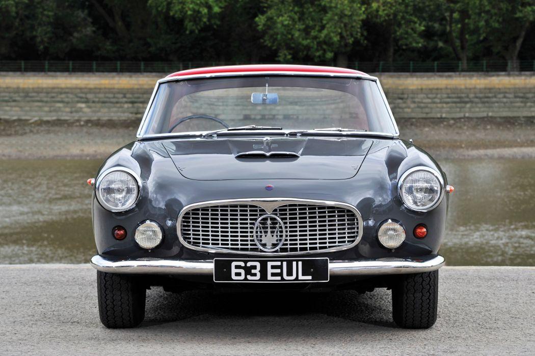 1964 Maserati 3500 G-T Coupe UK-spec AM101 classic supercar wallpaper