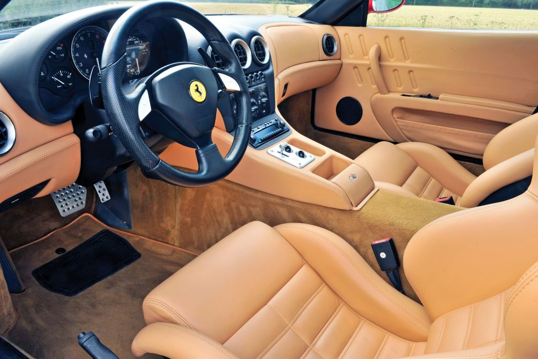 2006 Ferrari 575 M Maranello supercar wallpaper