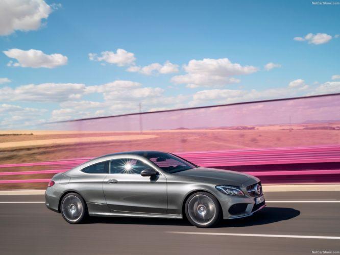 Mercedes-Benz C-Class 300 Coupe cars 2017 wallpaper