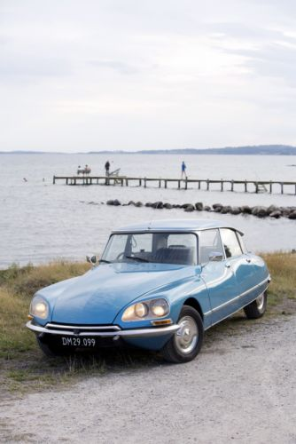 1971 Citroen DS23 Pallas UK-spec classic wallpaper