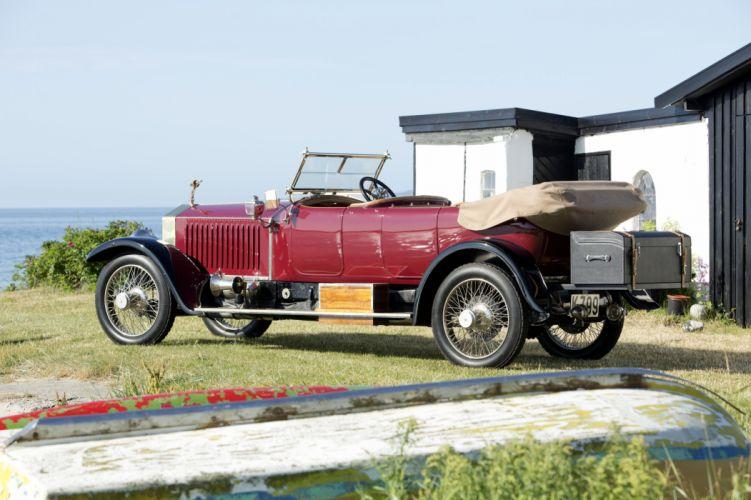 1913 Rolls Royce Silver Ghost 40 50 HP Open Tourer retro vintage luxury wallpaper