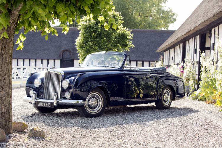 1959 Bentley S1 Drophead Coupe Mulliner luxury retro s-1 wallpaper