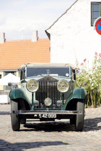 1934 Rolls Royce 20-25HP Sedanca Coupe Gurney Nutting retro vintage luxury wallpaper