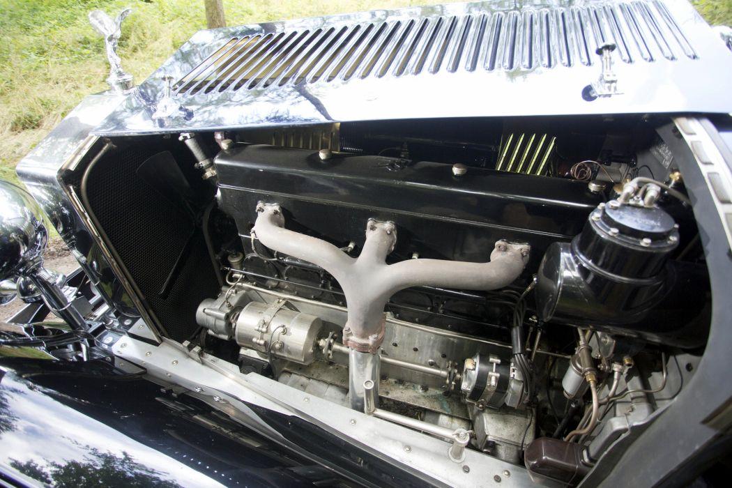 1933 Rolls Royce Phantom II Continental Sedanca Coupe Gurney Nutting retro vintage luxury wallpaper