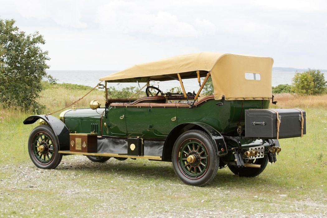 1913 Sunbeam 25-30 HP Torpedo luxury retro vintage wallpaper