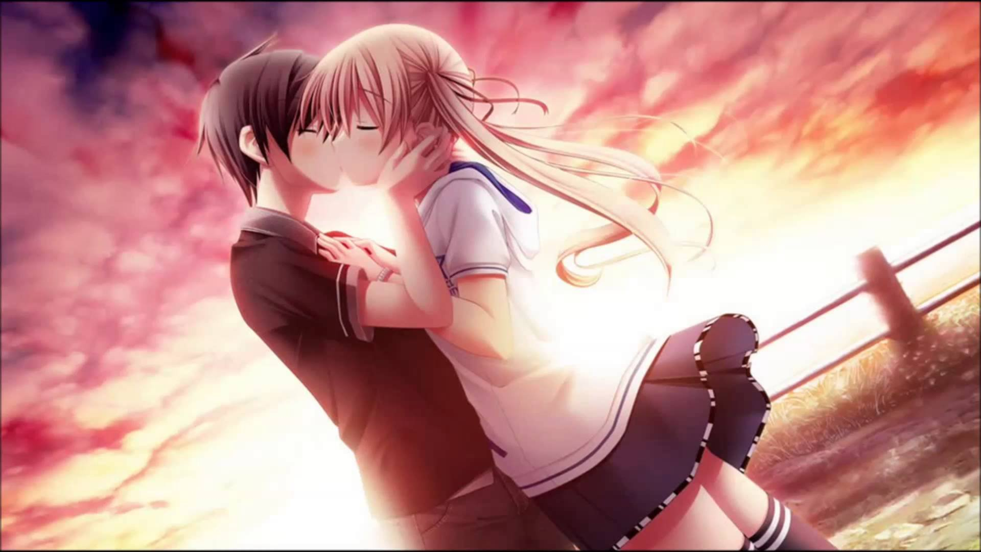 Nightcore I M Heaven When You Kiss Me Wallpaper
