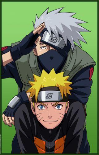 Naruto Kakashi sensei and Naruto wallpaper