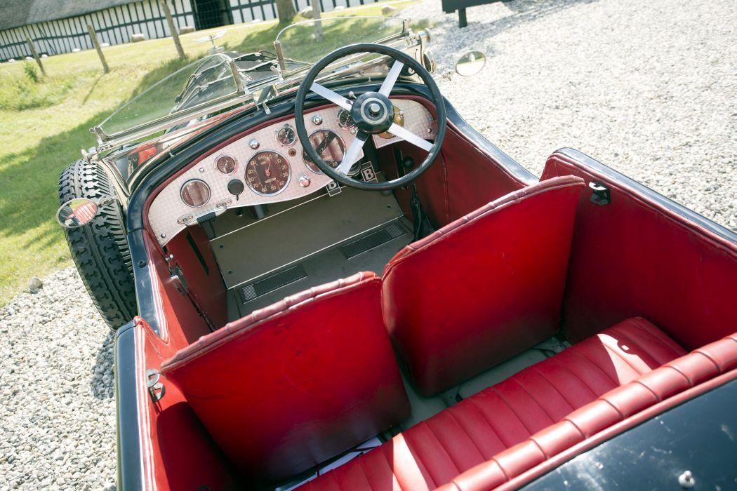 1927 Bentley 6-5Litre SWB Roadster retro vintage wallpaper