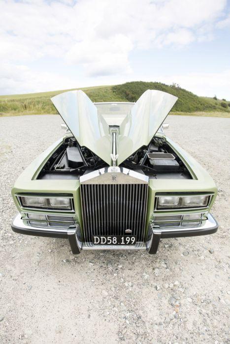 1973 Rolls Royce Phantom V-I Drophead Coupe Frua luxury classic wallpaper