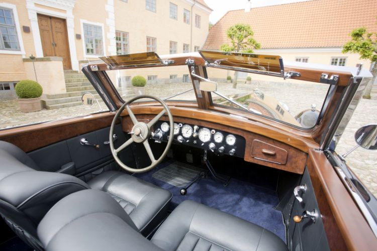 1933 Maybach Zeppelin DS8 Cabriolet Wagner luxury retro vintage wallpaper