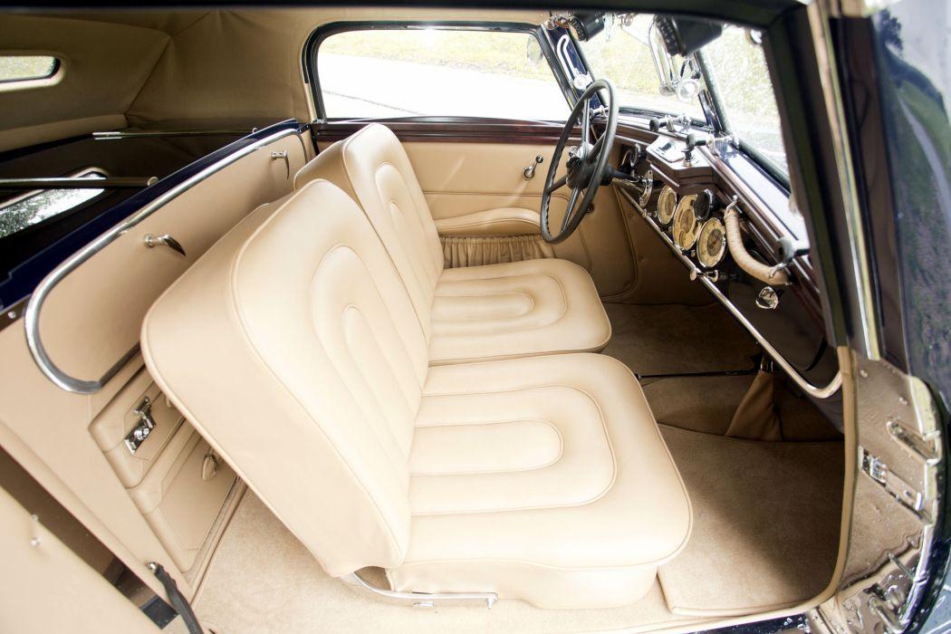 1937 Maybach SW38 Special Roadster Spohn luxury retro vintage wallpaper