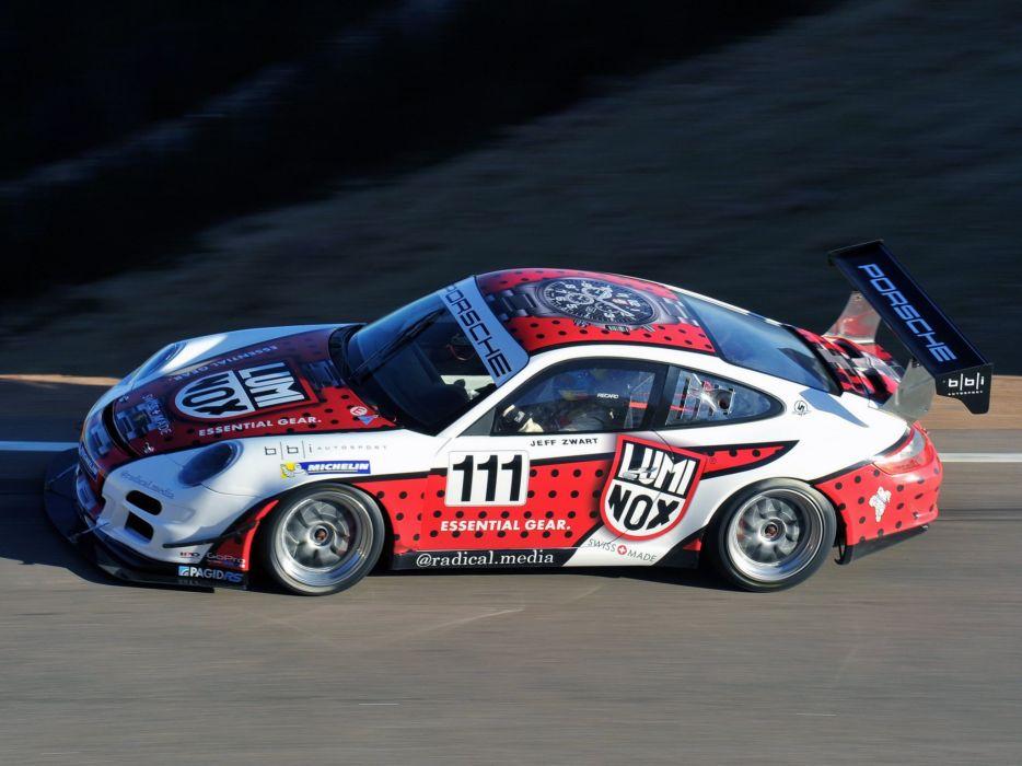 2014 Porsche 911 GT3 Cup Pikes Peak 997 rally race racing wallpaper