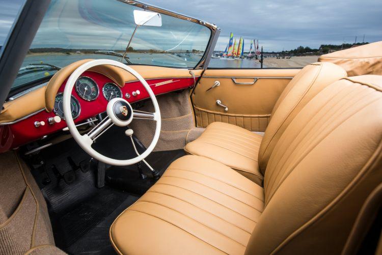 1958 Porsche 356A 1600 Super Convertible D Drauz T-2 retro wallpaper