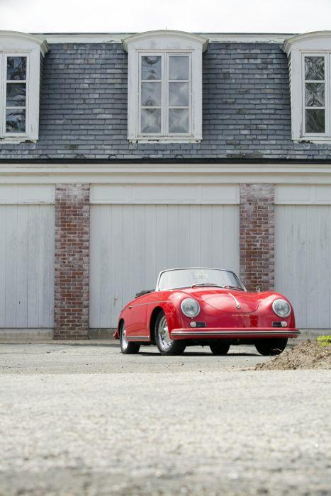 1959 Porsche 356A 1600 Convertible D Drauz T-2 retro wallpaper