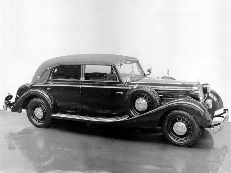 1938 Maybach SW38 Cabriolet luxury retro vintage wallpaper