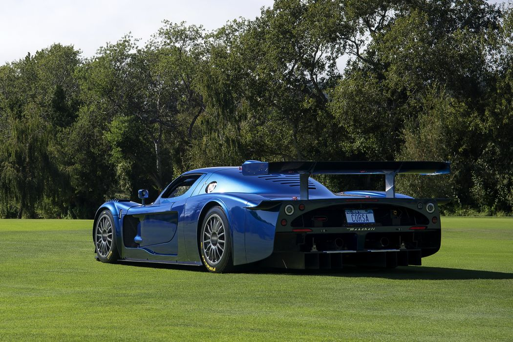 2006 Maserati MC12 Corsa Italdesign supercar wallpaper