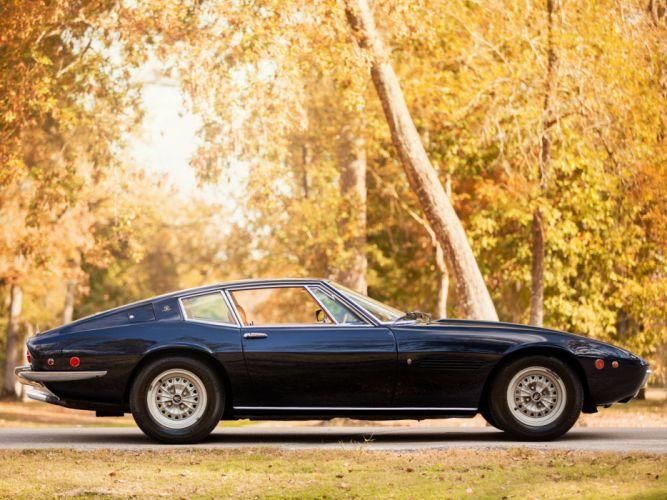 1970-73 Maserati Ghibli SS US-spec AM115-49 classic supercar s-s wallpaper