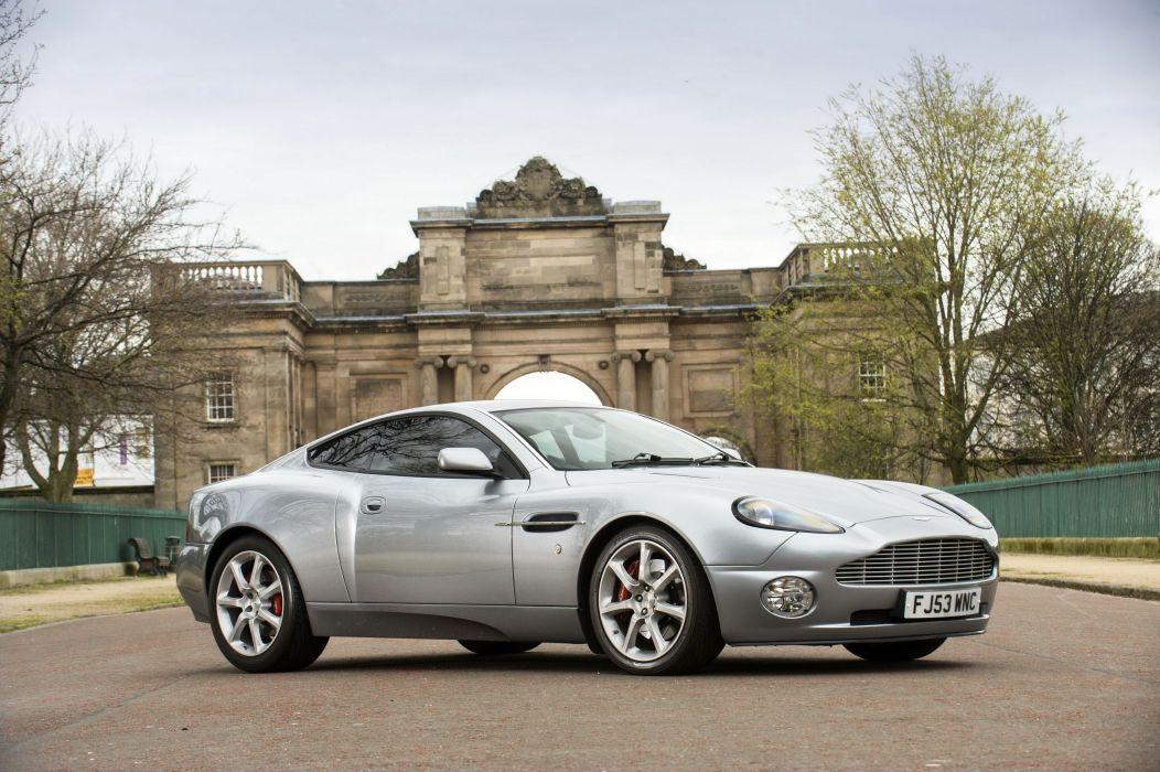 2006 Aston Martin V12 Vanquish UK-spec wallpaper
