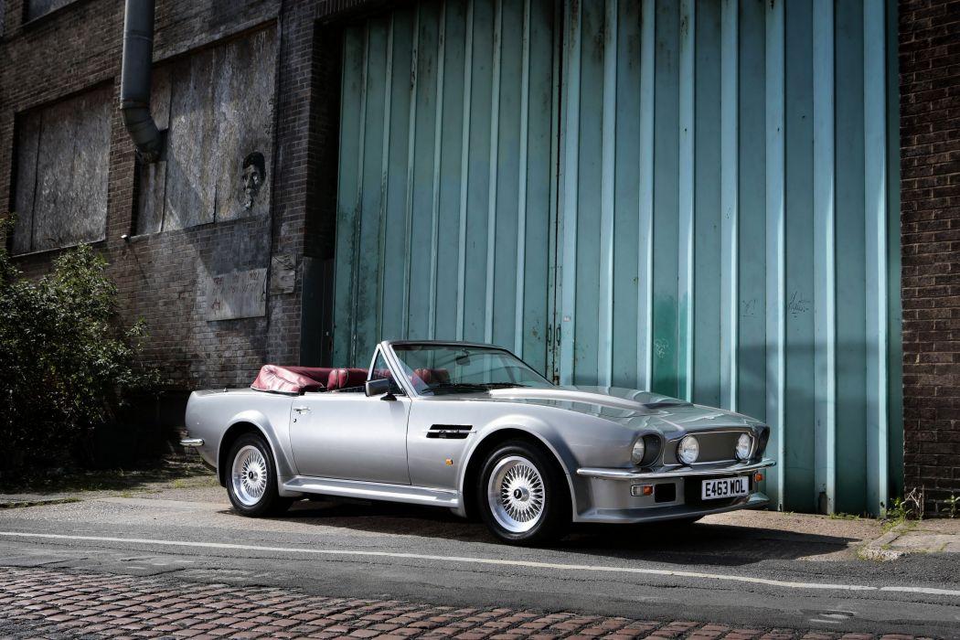 1988 Aston Martin V8 Vantage Volante UK-spec v-8 wallpaper