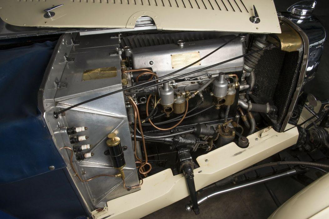 1935 Aston Martin 1-5Litre MkII Drophead Coupe Enrico Bertelli vintage luxury wallpaper
