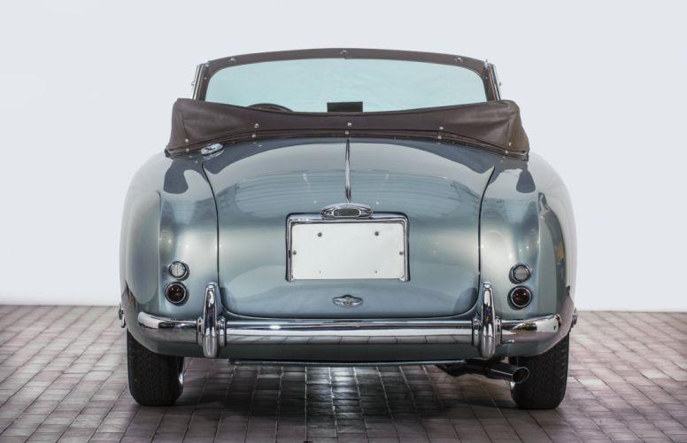 1951-54 Aston Martin DB24 Drophead Coupe race racing supercar retro wallpaper