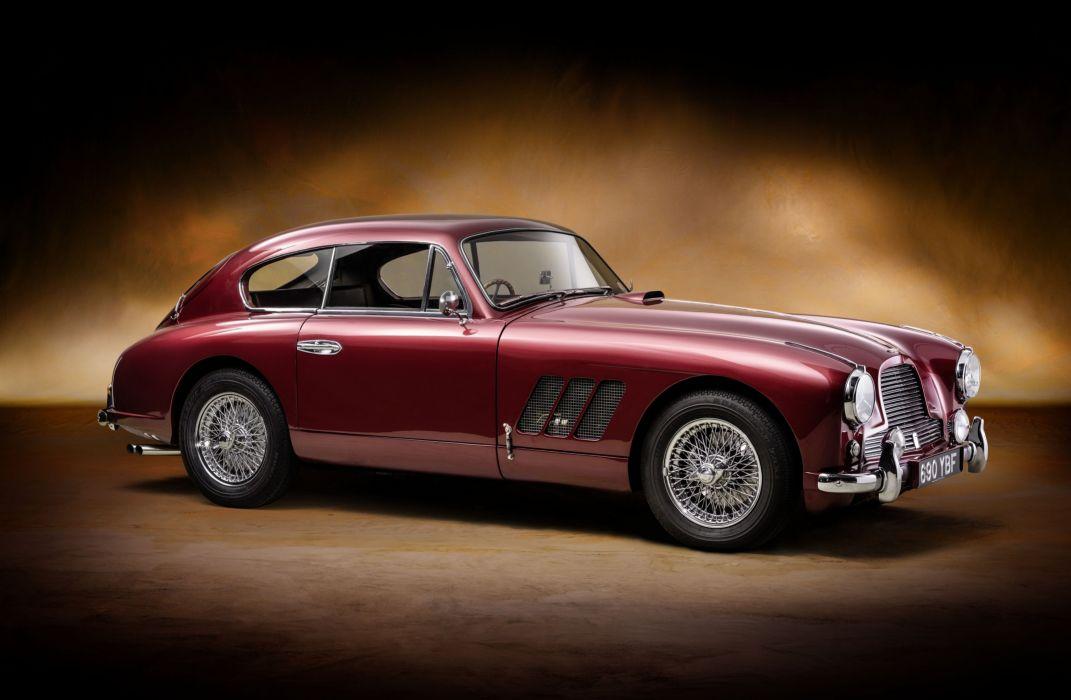 1955 Aston Martin DB24 Sports Saloon Rallye Monte Carlo retro wallpaper