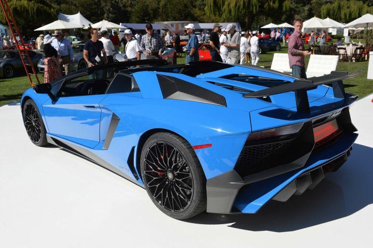 Lamborghini Aventador-SV Roadster cars supercars 2015 wallpaper