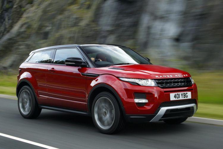 ranger rover rojo coche wallpaper