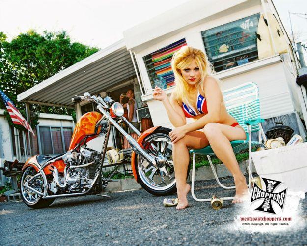 WEST COAST CHOPPERS custom bike motorbike motorcycle chopper 1wcc poster wallpaper