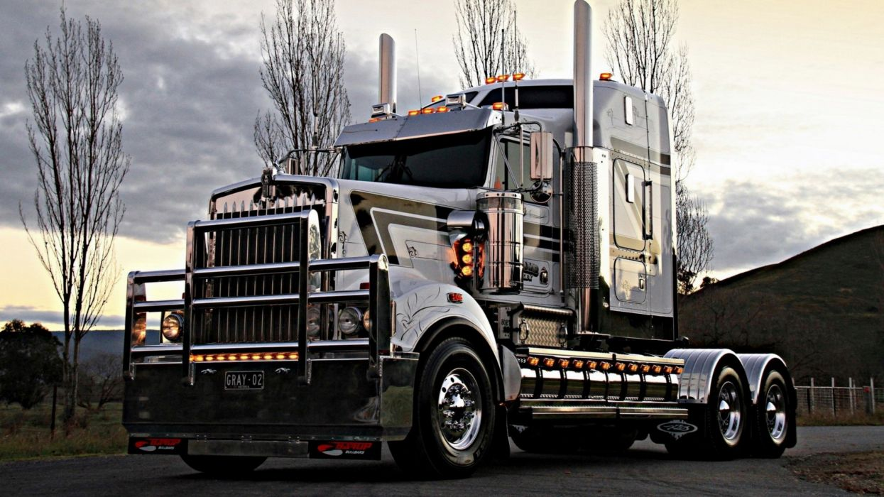 KENWORTH semi tractor transport wallpaper