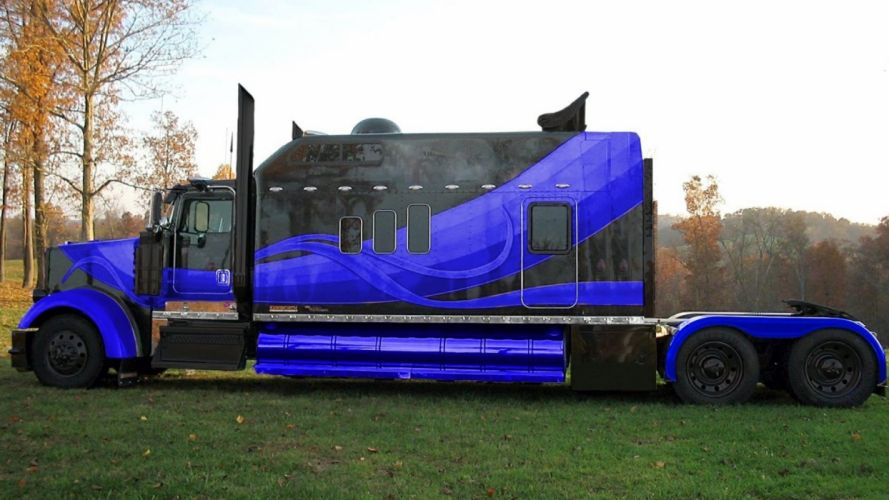 KENWORTH semi tractor transport wallpaper