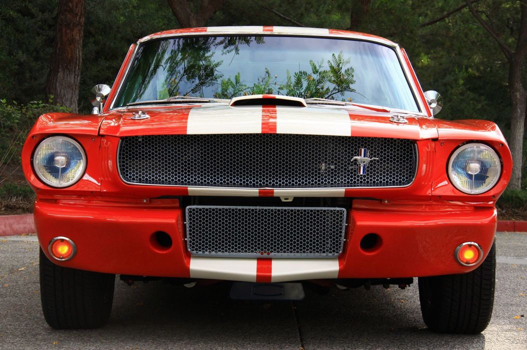 1965 Ford Mustang Shelby GT 350R Muscle Classic Street Machine USA -03 wallpaper