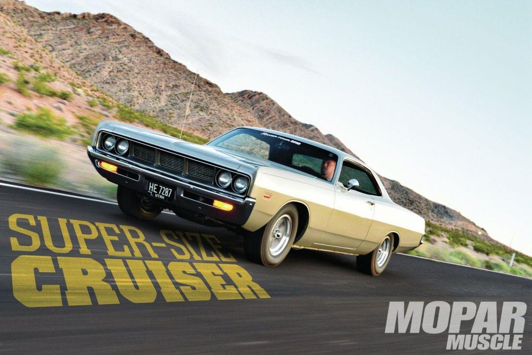 1969 Dodge Polara Hardtop Street Machine Cruiser USA -01 wallpaper
