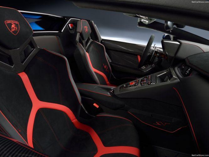 2015 Aventador-SV cars Lamborghini roadster supercars wallpaper