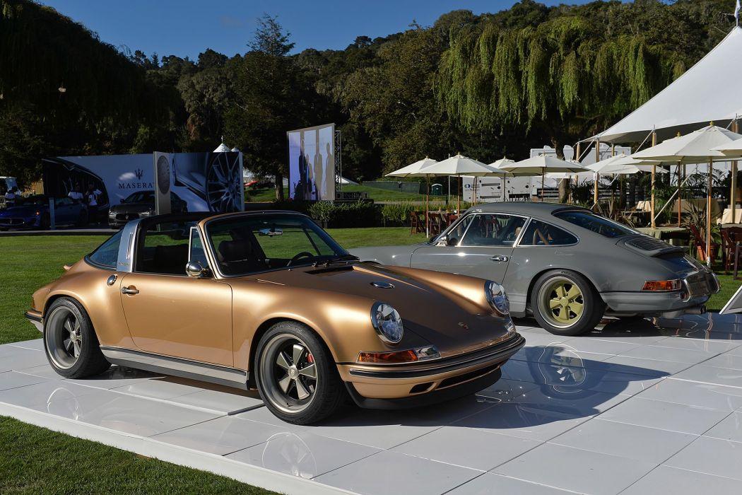 Singer coupe cars modified Porsche 911 Targa wallpaper
