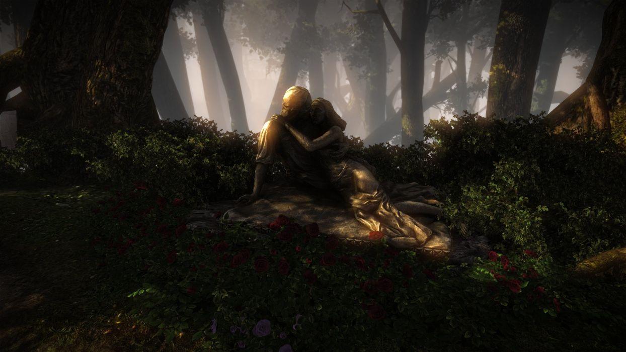 The Witcher 2 Assassins of Kings Eldan Cymoril Rose wallpaper