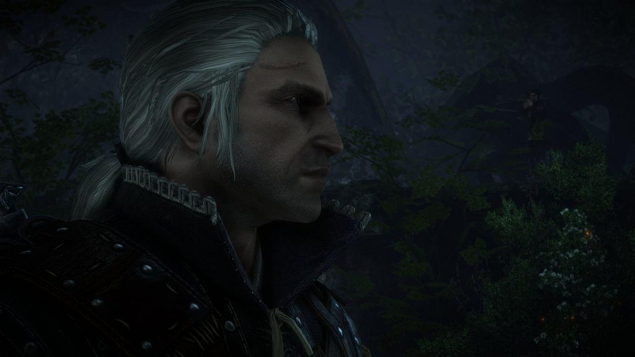The Witcher 2 Assassins of Kings Geralt Elf Bow wallpaper