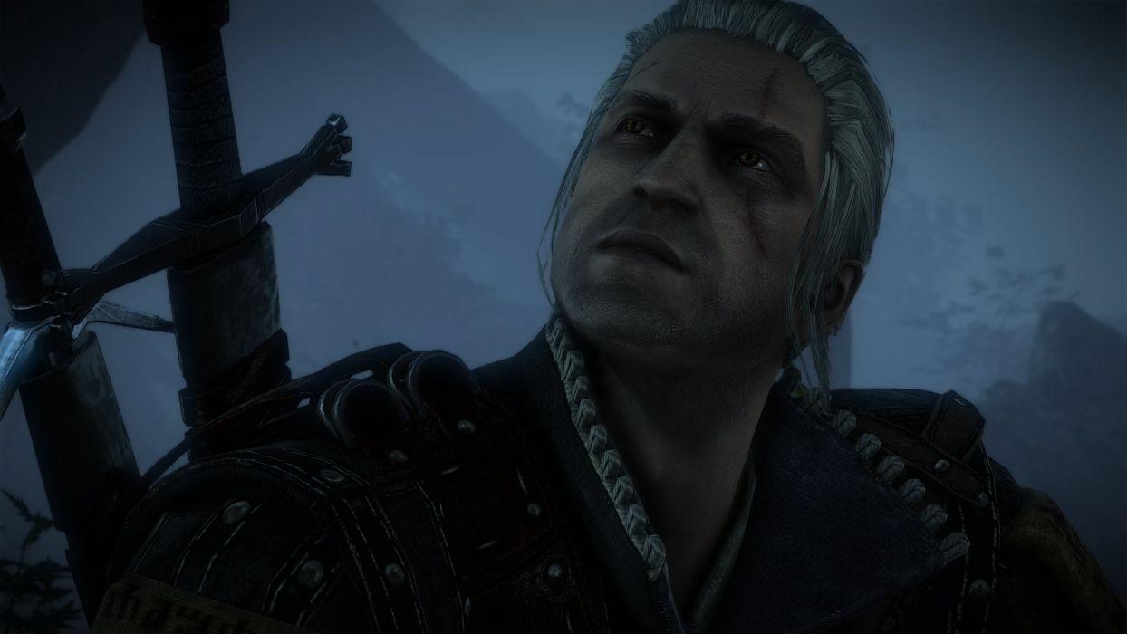 The Witcher 2 Assassins of Kings Geralt Forest wallpaper