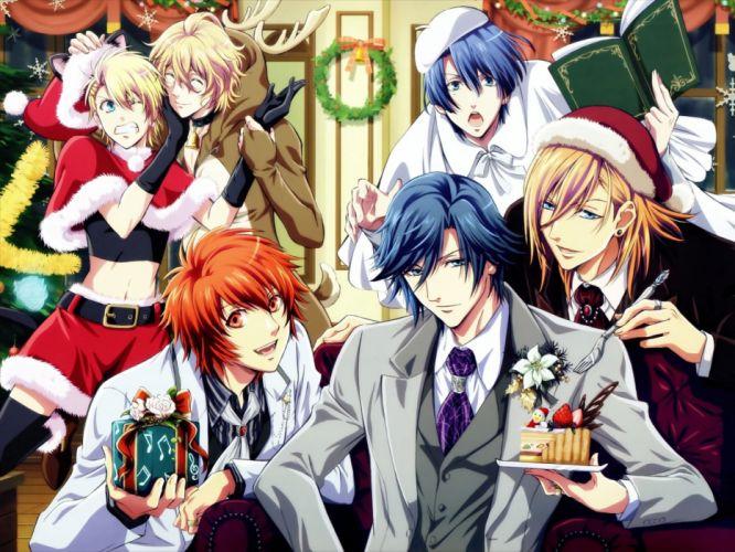 Uta no prince-sama christmas wallpaper